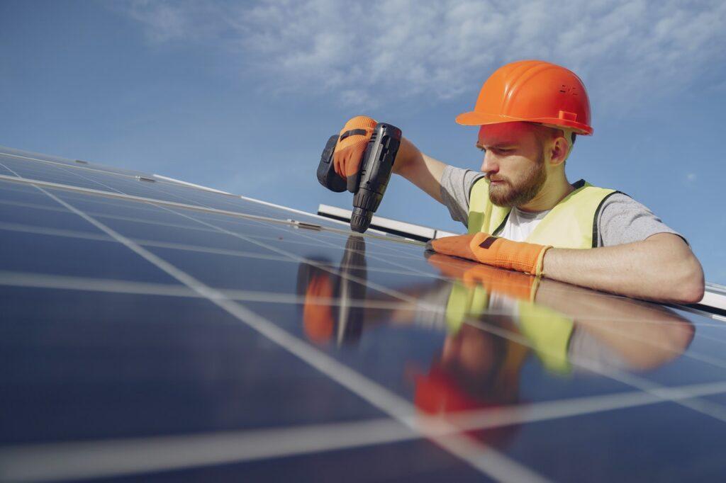 napelemes rendszer kiépítése